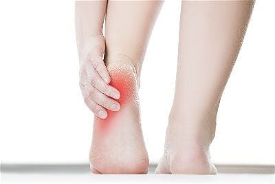 Foot and heal injury